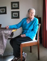 Former Chemo@home patient Patricia Griffiths at home in Wanneroo.