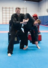 Owner and instructor at Guest's Martial Arts, Craig Guest.