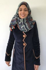 Asma Abulehia, a lawyer with the Aisha Association for Woman and Child Protection.