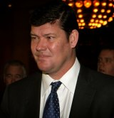Speedy: James Packer's licence approval went through in three months.