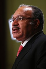 Prime Minister of Papua New Guinea Peter O'Neill.