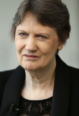 Helen Clark, the former Prime Minister of New Zealand and senior United Nations official, in New York.