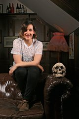 Comedian Laura Dunemann can't help thinking about death.