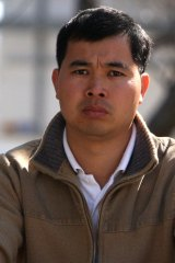 """Qin Cai """"David"""" Wang during a court appearance in Wollongong in 2008."""