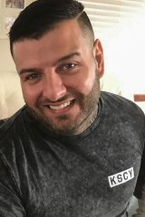 Former Rebels bikie gang member Ricky Ciano was last seen alive in Penrith in Sydney's west on February 11.