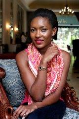 Image consultant and fashion magazine publisher Olive Gachara, 28.