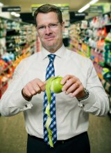 Taking risks: Woolworths chief Grant O'Brien.
