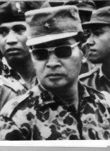 Major General Suharto pictured in 1966.