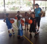 'Barefoot with a basketball and a smile, that's all what mattered': Carrie Graf was in Micronesia.