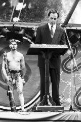 Paul Keating delivers his emotional speech in Redfern 23 years ago.