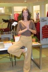 Model Christy Turlington.