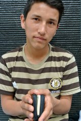 """Parents killed: Sardar """"Sammy"""" Hussein is in Jakarta hoping to start a new life somewhere other than Afghanistan."""