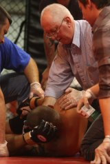 Ringside doctor Lawrence Noonan in a file picture.