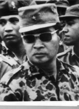 Major-General Suharto in 1966.