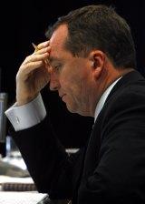 Barnaby Joyce in the Senate in October 2008.