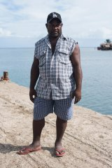 Moses Ako, a former Malaita Eagle Force member.