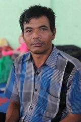 Family of Ketut Purna, son is Nyoman Rauh . Photo: Alan Putra