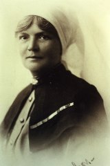 A woman of great character and presence: Matron-in-Chief Grace Margaret Wilson.