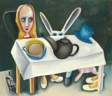 Charles Blackman's <i>Feet beneath the table</i> 1956.