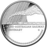 The 2017 Trans-Australian Railway centenary coin.