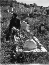 In Morocco, Patti Smith visited the grave of French writer and activist Jean Genet.