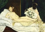 Manet's 'Olympia'.