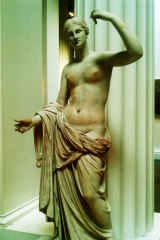 A clumsy caterer broke the thumb of the Townley Venus at the British Museum.