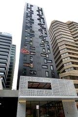 The 23-storey Iglu Brisbane has not been certified.