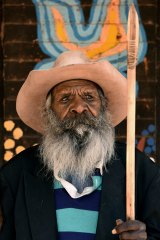 Graham Kulyuru is one of the artists whose work will be displayed in the Tarnanthi Festival of Contemporary Aboriginal and Torres Strait Islander Art.