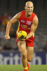 Gary Ablett is likely to spend more time as a damaging forward next season.