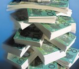 The piles of money at stake are not as large here as overseas.