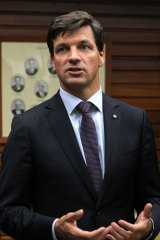 Member for Hume Angus Taylor.
