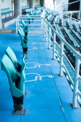 There are only 28 disabled access seats in Allianz Stadium, when there should be more than 400 based on national standards.
