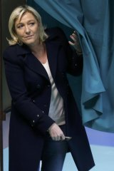 Waiting in the wings: French far-right  leader Marine Le Pen's National Front massively increased its presence on local councils, but failed to win control of any.