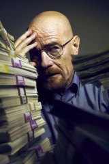 Cranston as Walter White in <i>Breaking Bad</i>.