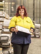 Love your work: Pat Keyworth, a team leader at Capral Aluminium.