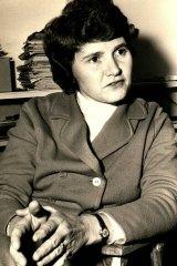 Marie Tulip, c1975.