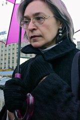 Reporter Anna Politkovskaya was a persistent critic of Kadyrov.