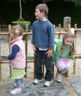 The Hunt children: Phoebe, Fletcher and Mia.