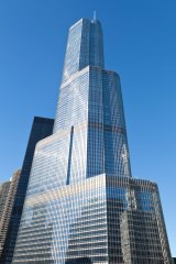 Tax avoidance has helped Trump enjoy his wealth from his real estate holdings, such as Trump International Hotel & Tower (pictured), according to his former accountant.