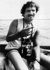 Portuguese photographer Fernando Pereira, who was killed in the bombing carried out by French commandos.