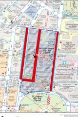 Martin Place Siege exclusion zone
