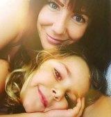 Ms Faulkner with daughter Lahala.