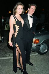 Hurley and Grant dated for 13 years in the 1990s, even stepping out together when she wore that famous Versace safety pin dress in 1994.