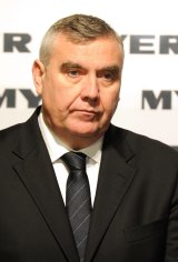 Stepping down: Myer chief Bernie Brookes.