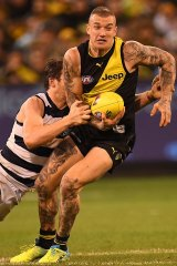 Dustin Martin is the undisputed x-factor of the Richmond side.