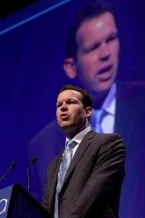 Federal Resources minister Matt Canavan.
