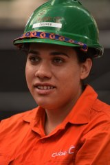 """""""You are always hands on, staying fit,"""" says apprentice Desiree Owens."""