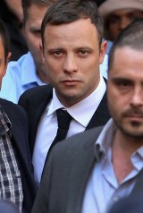 Convicted: Oscar Pistorius said he believed an intruder was in his house.