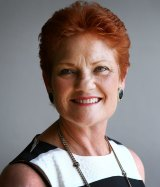 Let parents decide on vaccines: One Nation leader Pauline Hanson.
